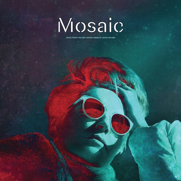 David Holmes ‎– Mosaic - Music From The HBO Limited Series Limited Edition Red Transparent Vinyl