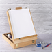 Wooden Table Box Easel | M&W - Image 2