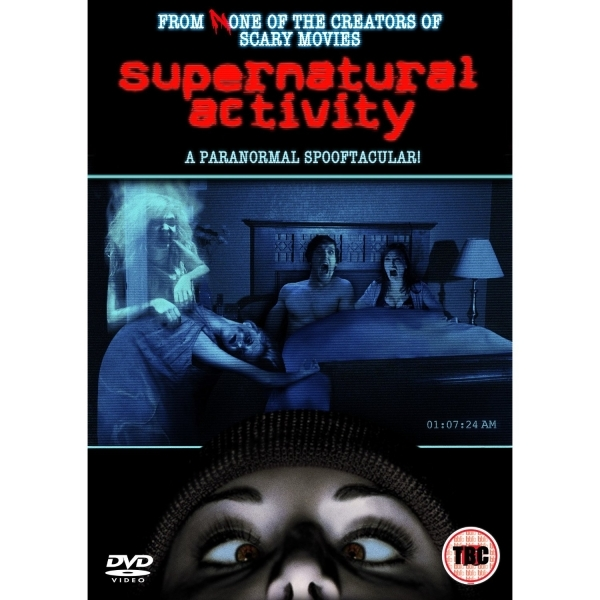 Supernatural Activity DVD