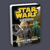 Star Wars Roleplaying Imperials and Rebels Adversary Deck