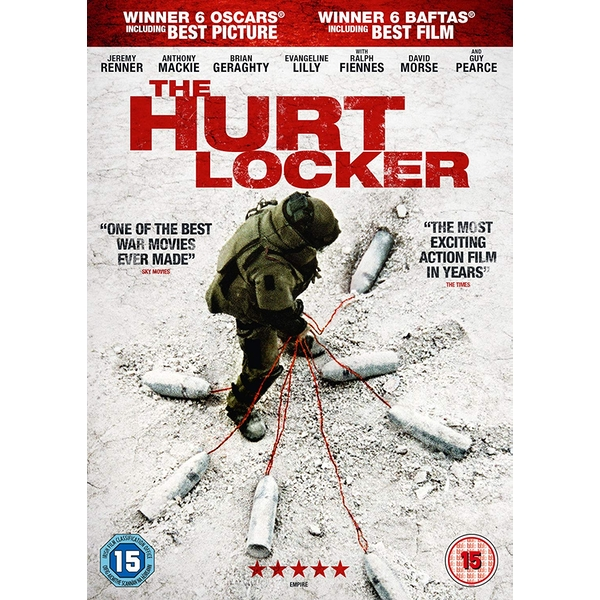 The Hurt Locker DVD (Re-Sleeve)