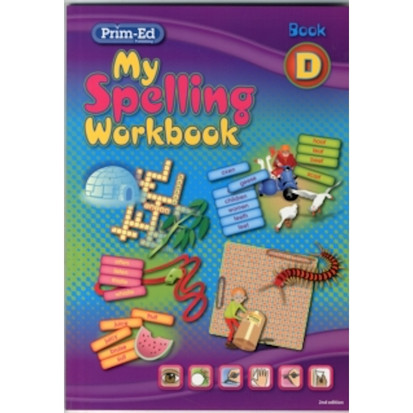 My Spelling Workbook: Book D by RIC Publications (Paperback, 2011)
