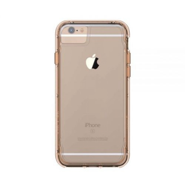 Griffin Survivor Clear Case for Apple iPhone 7/6s/6 in Gold
