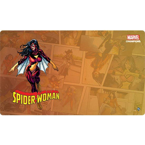 UNIT Marvel Champions: Spider-Woman Game Mat