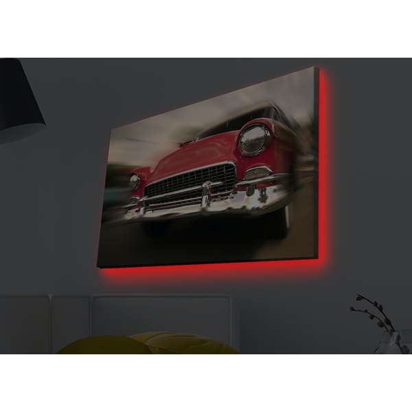 4570MDACT-003 Multicolor Decorative Led Lighted Canvas Painting