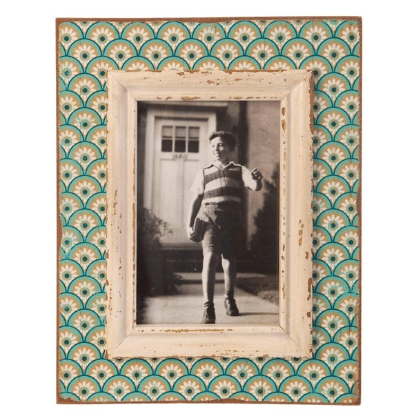 Sass & Belle Boudoir Stamp Aqua Photo Frame