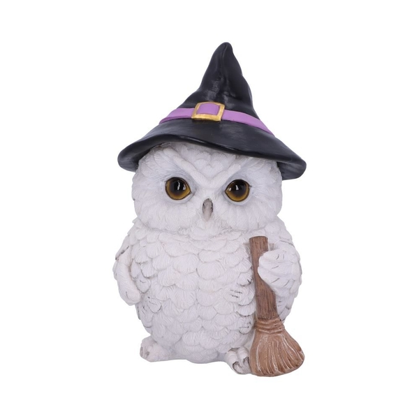 Snowy Magic Owl Figurine