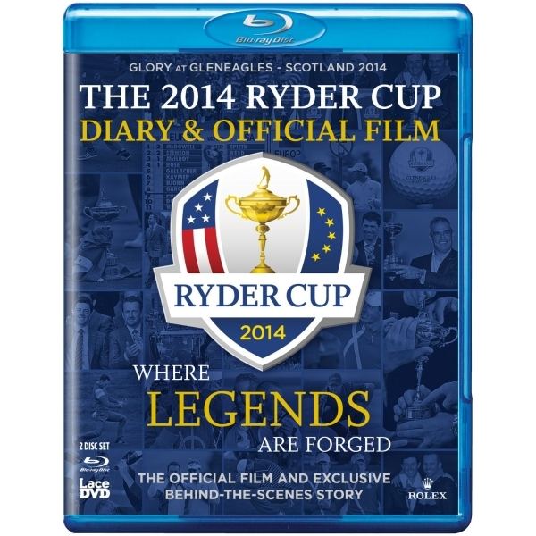 Ryder Cup 2014 Diary and Official Film 40th Blu-ray