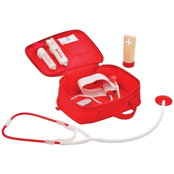 Hape Doctor on Call Role Play First Aid Kit
