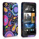 YouSave Accessories HTC One Jellyfish Gel Case - Multicoloured