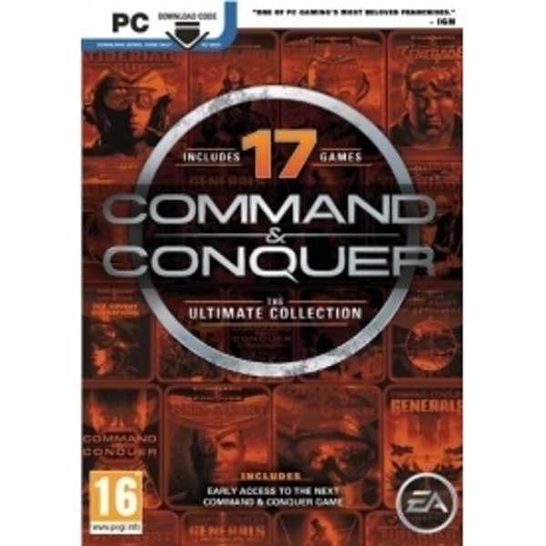 Command and Conquer Ultimate Edition PC Game (Boxed and Digital Code)