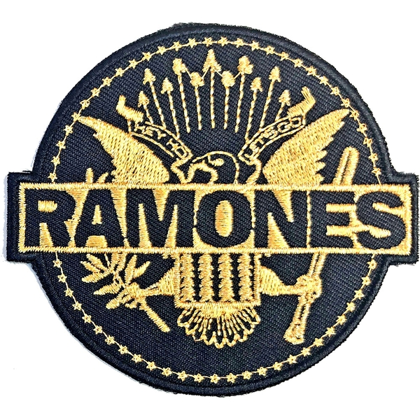 Ramones - Gold Seal Standard Patch