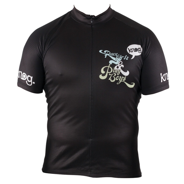 Outeredge Jersey Short Sleeve Knog Ladies Race/Play Black Small
