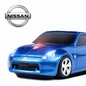 Nissan 370Z Wireless Mouse - Blue