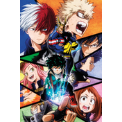 My Hero Academia Group Maxi Poster
