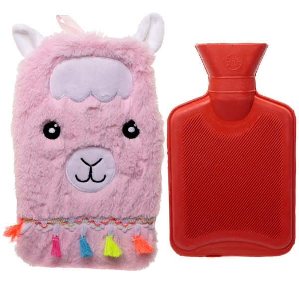Llamapalooza 1 Litre Hot Water Bottle and Cover
