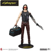 Johnny Silverhand with Bag Cyberpunk 2077 McFarlane 7-inch Action Figure