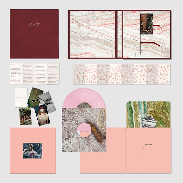 Florence & The Machine - Lungs Deluxe Salmon Pink Vinyl