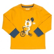 Kite Kids Baby-Boys 6-12 Months Tricycle Bear Polo Shirt