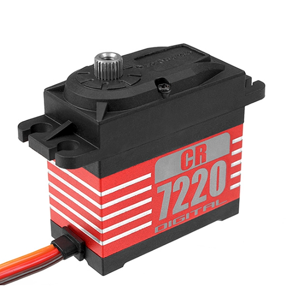 Corally Varioprop Digital Servo Cr7220Mg Low Voltage Core Motor Core Metal Gear 20Kg Torque