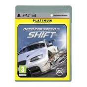 Need For Speed NFS Shift Game (Platinum) PS3