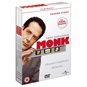 Monk Season 8 DVD