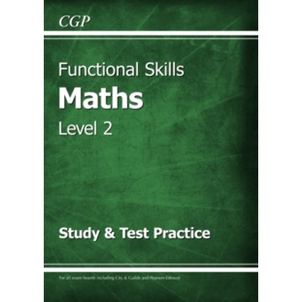 Functional Skills Maths Level 2 - Study & Test Practice by CGP Books (Paperback, 2015)