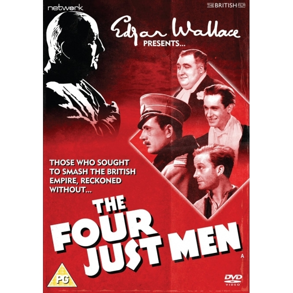 Edgar Wallace Presents: The Four Just Men DVD