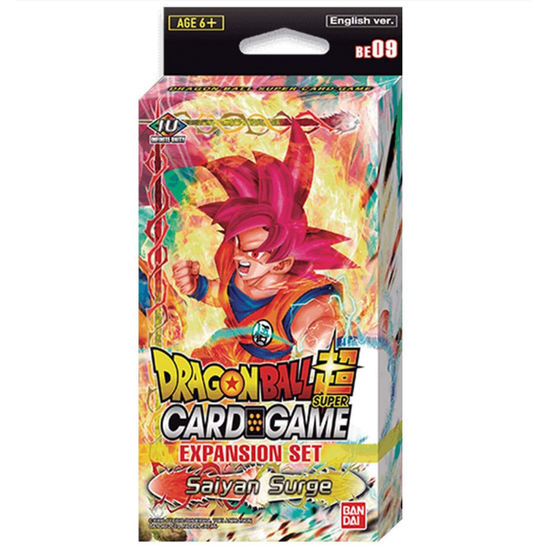 Dragon Ball Super CG Expansion Set - Saiyan Surge BE09