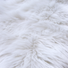 Faux White Sheepskin Rug | M&W - Image 5