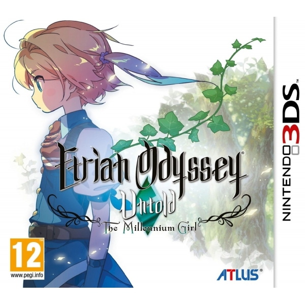 Etrian Odyssey Untold The Millennium Girl 3DS Game