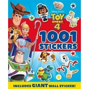 Disney Pixar Toy Story 4 1001 Stickers (1001 Stickers Disney)