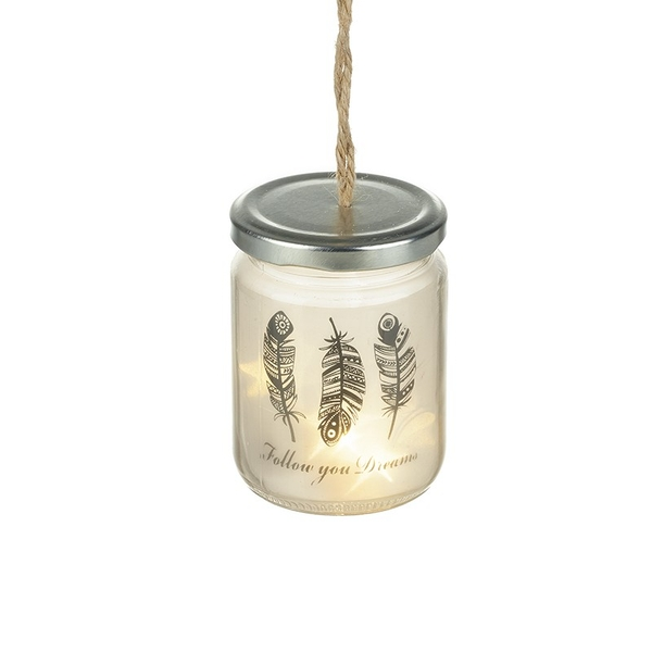 Light Up Jar With Design By Heaven Sends