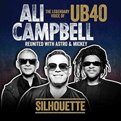 Ali Campbell - Silhouette (The Legendary Voice Of UB40 - Reunited With Astro & Mickey) Vinyl