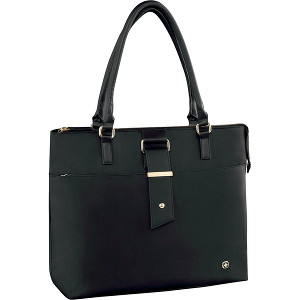 Wenger 601375 ANA 16 inch Womens Laptop Tote with Tablet Pocket In Black
