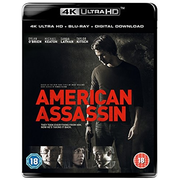 American Assassin: 4K UHD + Blu-ray + Digital Download