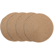 Natural Rope Placemats - Set of 4 | M&W