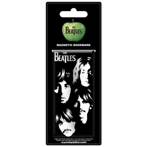 The Beatles - Illustrated Faces Magnetic Bookmark