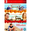 The Best Exotic Marigold Hotel / We Bought a Zoo / The Descendants Triple Pack DVD