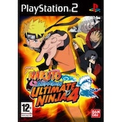 Ultimate Ninja 4 Naruto Shippuden Game PS2