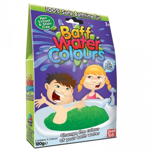 Baff Water Colours 6 pack