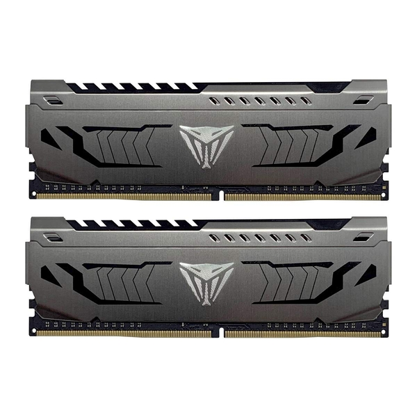 Patriot Viper Steel Series DDR4 16GB (2 x 8GB) 4000MHz Kit w/Gunmetal Grey heatshield