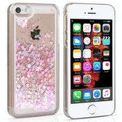 YouSave Accessories iPhone 5 / 5s / SE Quicksand Scale Hard Case - Silver