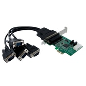 4 Port Native PCI Express RS232 Serial Adapter Card with 16950 UART