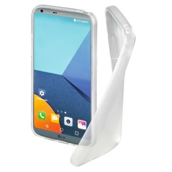 """Hama """"Crystal Clear"""" Cover for LG G6, transparent"""