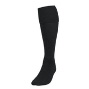 Precision Plain Football Socks Adult - Black