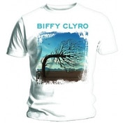 Biffy Clyro Opposites White T Shirt: Large