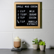 Felt Letter Board Message Sign | Pukkr 10x10In - Image 2
