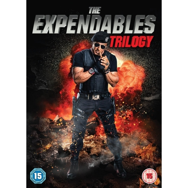 Expendables 1-3 DVD