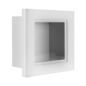"3D Box Frame | M&W White 8"" x 8"""